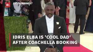 Idris Elba: You're A Cool Dad When You DJ At Coachella [Video]