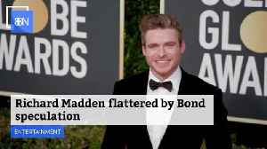 Richard Madden Wins Golden Globe Award And Now Bond Speculation [Video]