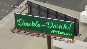 'Double Doink' Billboard Pops Up In New Jersey After Eagles Beat Bears In Miraculous Fashion [Video]