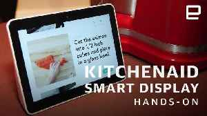 KitchenAid Smart Display Hands-On: Google Assistant gets waterproof [Video]