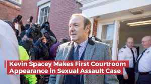 Kevin Spacey Shows Up In Court Today To face Charges [Video]