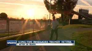 Longtime BC Athletic Trainer retires [Video]