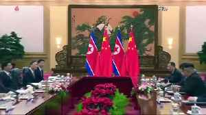 Kim Jong Un visits China for a fourth summit [Video]