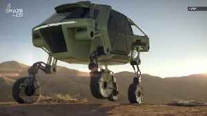 This New Concept Car Can Drive, Walk and Climb Using Robotic Legs [Video]