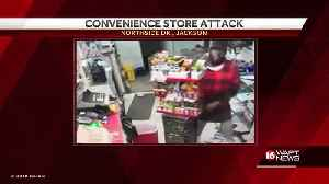 Gas Station Clerk Attacked [Video]