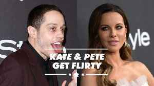 Kate Beckinsale flirting with Pete Davidson is no surprise [Video]