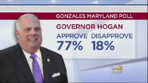 Gonzales Poll Shows Majority Of Marylanders Disapprove Of Trump, Approve Of Hogan [Video]