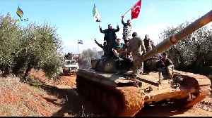 Two largest rebels groups in northern Syria clash [Video]