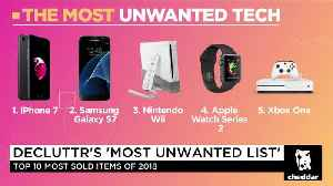 Apple Products Top the List of Unwanted Items in 2018: Decluttr CEO [Video]