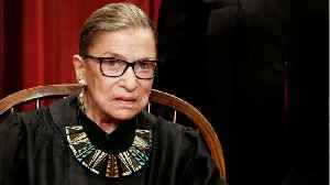 News video: Supreme Court Justice Ginsburg Misses Oral Arguments Again