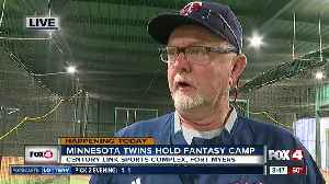 The Minnesota Twins hold 2019 fantasy camp in Fort Myers [Video]