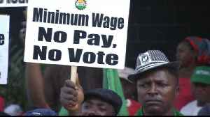Nigeria 'failing' to implement increased minimum wage [Video]