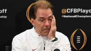 Assessing Nick Saban's Poor Performance in National Championship [Video]