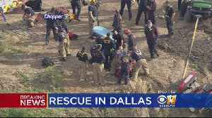 Man Rescued After Fall At Dallas-Fort Worth National Cemetery [Video]