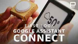 Google Assistant Connect First Look [Video]