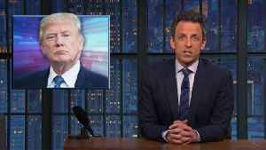 Late-Night Hosts Use Trump's Government Shutdown As Fuel For Material | THR News [Video]
