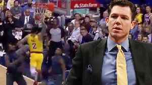 Lonzo Ball & Brandon Ingram RESPOND To Luke Walton's Challenge! [Video]