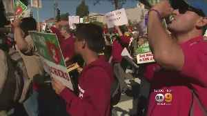 LAUSD Board Eases Volunteer Restrictions In Event Of Strike [Video]