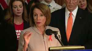 'Enough is enough' on gun violence: Pelosi [Video]