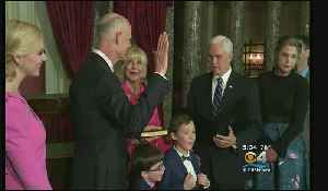 Former Florida Governor Rick Scott Sworn In As Florida Senator [Video]