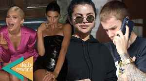 "Justin Bieber Tries To ""Accidentally"" Run Into Selena Gomez! Kylie & Kendall FIGHTING Over Money! DR [Video]"