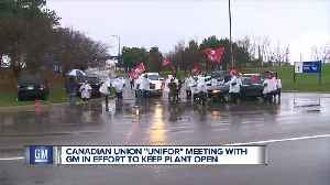 Canadian union Unifor meeting with GM in effort to keep plant open [Video]