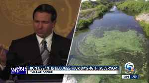 Ron DeSantis sworn in as Florida's 46th Governor, lays out plan for state's future [Video]