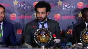 Salah again voted African Footballer of the Year [Video]