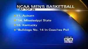 Bulldogs move up to No. 14 in AP Top 25 [Video]