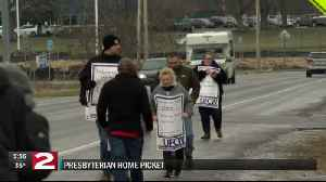 Presbyterian home employees stage picket, negotiations ongoing [Video]