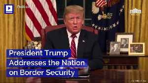 President Trump Addresses the Nation on Border Security [Video]
