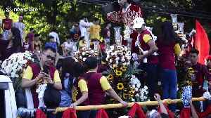 Millions of Catholics take part in Feast of the Black Nazarene in the Philppines [Video]