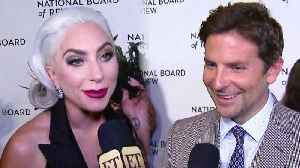 Lady Gaga Shares the Special Item She Gets to Keep From the Golden Globes (Exclusive) [Video]