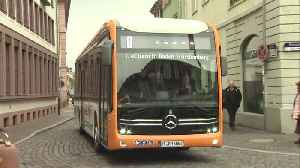 Mercedes-Benz eCitaro - Fully-electrical Mercedes-Benz city buses for Mannheim and Heidelberg [Video]