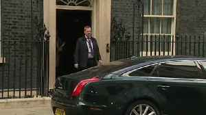 Theresa May departs Downing Street for PMQ's [Video]
