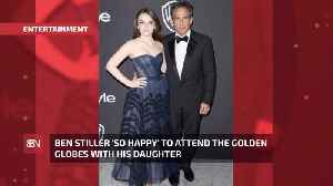 Ben Stiller Had The Best Date For The Golden Globes: His Daughter [Video]
