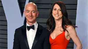 Jeff And MacKenzie Bezos Could Split $137 Billion After Divorce [Video]