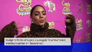 News video: Vanessa Hudgens Says Jennifer Lopez Is Like a Mother to Her