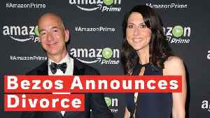 The World's Most Expensive Divorce? Jeff Bezos Announces Split From Wife MacKenzie [Video]