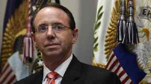 Deputy Attorney General Rod Rosenstein to step down [Video]