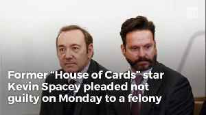 Spacey Smiles Walking into Courtroom, Judge Rules Actor Must Stay Away from Accuser [Video]