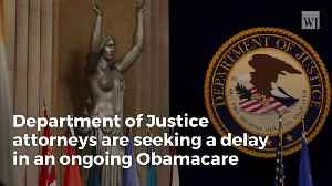 Obamacare Lawsuit Will Move Forward, Justice Department Makes Massive Announcement In Midst Of Gov't Shutdown [Video]