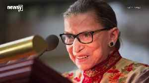 Ruth Bader Ginsburg To Sit Out Of Oral Arguments For First Time [Video]