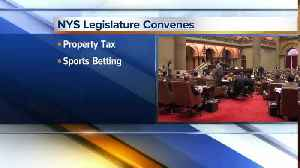 State lawmakers are heading back to begin a new session, here's what they're working on [Video]