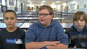 Students saves friend from choking [Video]