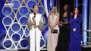 Sandra Oh Has A Historic Night At The 2019 Golden Globes [Video]
