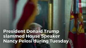 Video: Did You Catch the Pelosi Slam Trump Worked into His Speech Last Night? [Video]