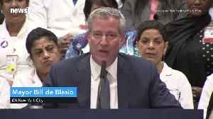 NYC Will Guarantee Health Care for All City Residents [Video]