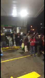 Band entertains motorists stranded for a day at Mexican gas station amid mass shortage [Video]