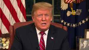 News video: Trump demands wall, says border 'crisis' hurts all Americans